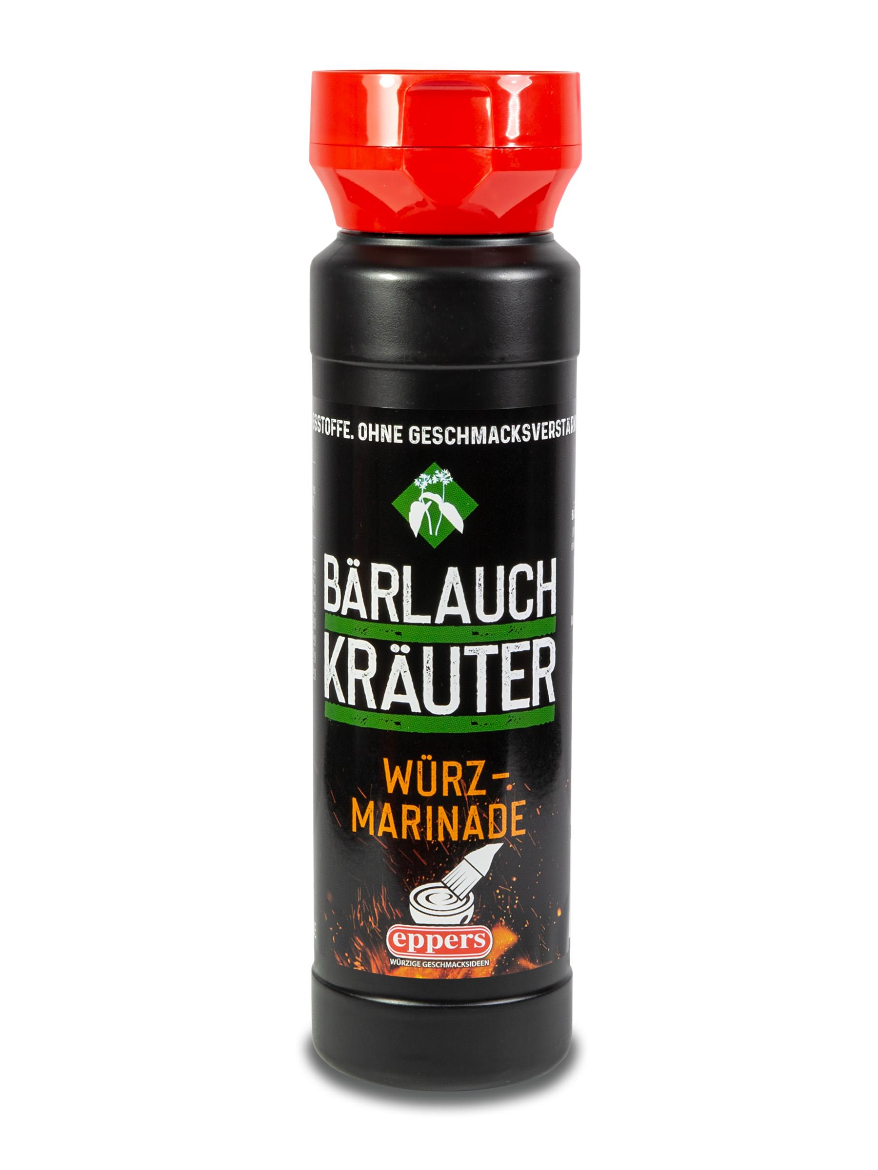 Würzmarinade Bärlauch Kräuter