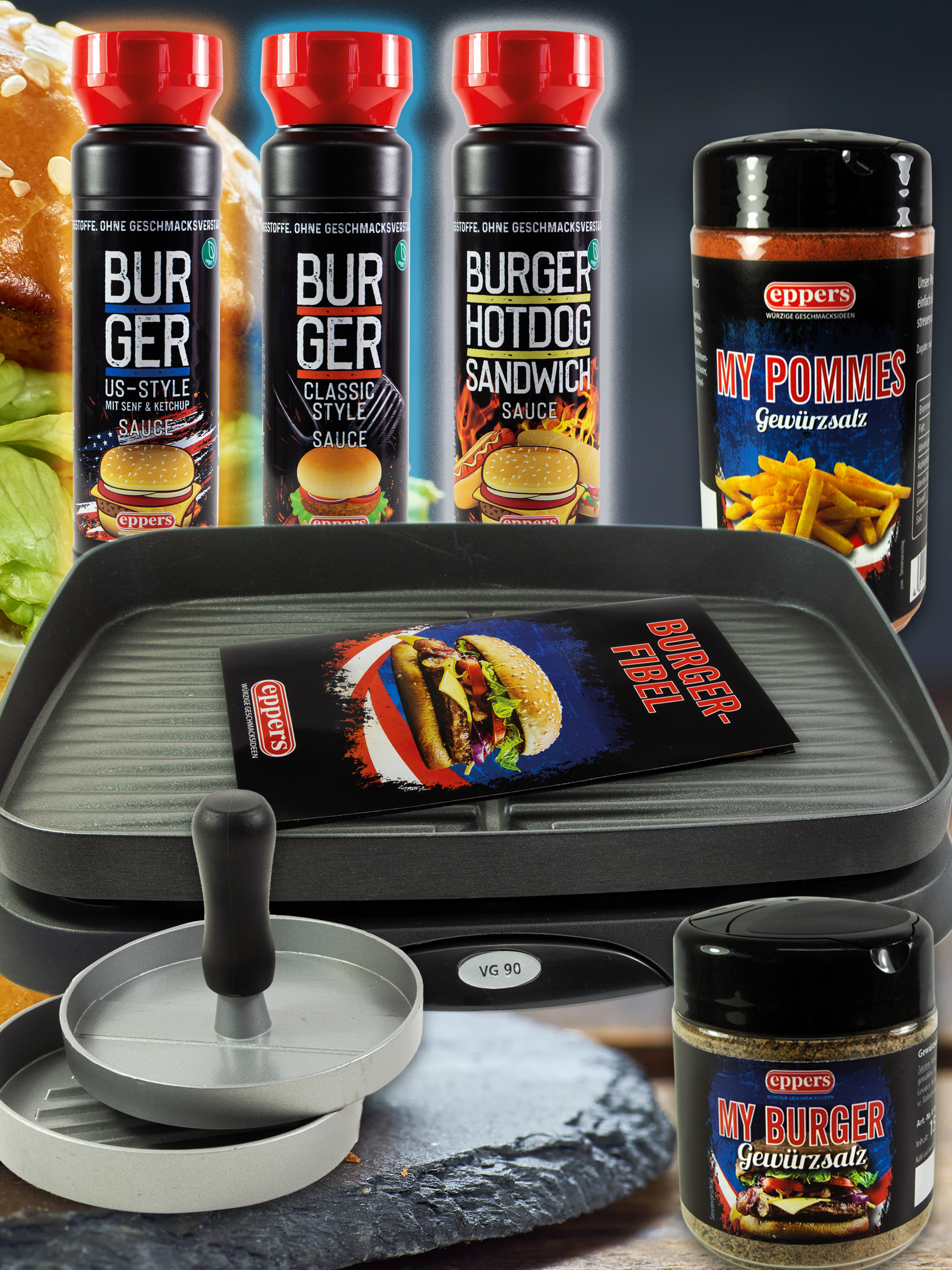 Burger-Balkon-Set