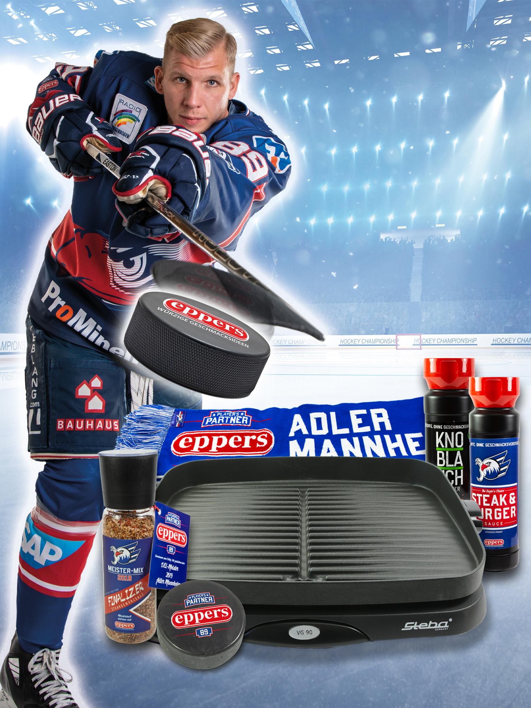 Adler Mannheim Balkon-Grill Paket