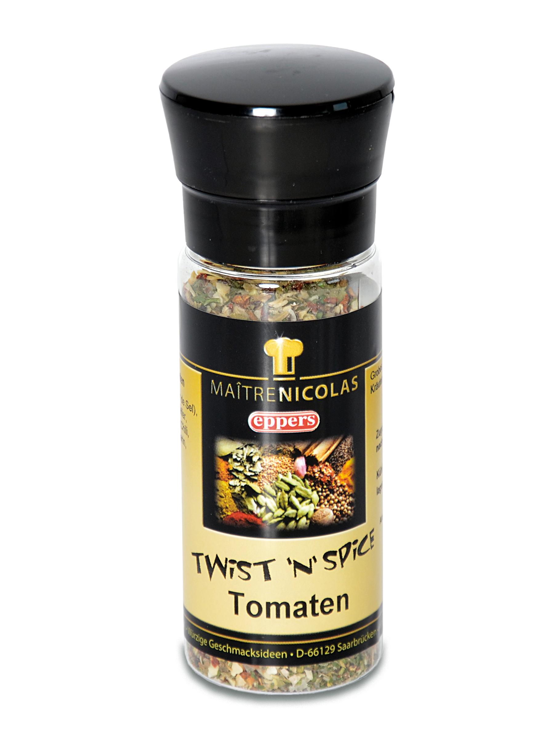 Tomaten Twist´n´Spice